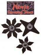 3 Pack of Foam Ninja Throwing Stars