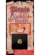 Novelty Gold Fake Pirate Tooth Costume Accessory