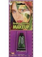 Sparkly Green Glitter Gel Makeup