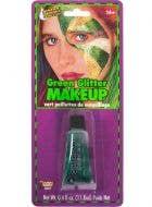 Sparkly Green Glitter Gel Makeup