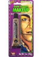 Gold Metallic cream Makeup Special FX -