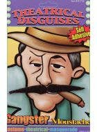 Self Adhesive 20's Mobster Black Costume Moustache