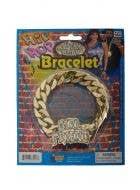 Girlfriend Old School Hip Hop Chain Costume Bracelet