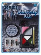Halloween Zombie Gory Flesh Face Paint Makeup Kit Special Effects Costume Accessory Main Image Packaging