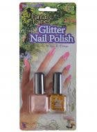 Pearl Pink and Gold Glitter 2 Pack Fairy Nail Polish