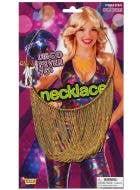 Disco Fever 70's Costume Necklace
