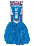 Cheerleader Blue Pom Pom and Megaphone Set