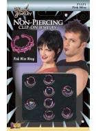 Punk Clip on Pretend Body Jewellery Image 1