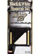 Grease Paint Makeup Kit - Black and White