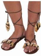 Stone Age Caveman Women's Costume Sandals
