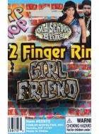 Hip Hop Girl Friend Bling Costume Ring