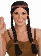 Native American Indian Princess Costume Wig