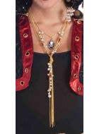 Buccaneer Beauty Long Drop Cameo Necklace