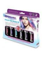Semi Permanent Vibrant Unicorn Pastel Shades Hair Dye Kit