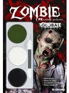 3 Colour Zombie Halloween Special Effects Makeup Kit