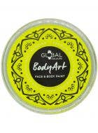 Neon Pofessional Quality Yellow face and body paint cake makeup
