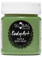 Green Oxide Face and Body Paint Water Based Costume Makeup in Jar