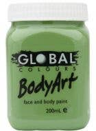 Olive Green 200ml Tub of Cream Makeup