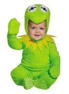 Disney Baby Infant And Toddler Muppets Kermit The Frog Green Fancy Dress Costume Main Image