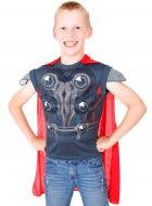 Children's Avengers Thor Chest and Cape Dress Up Set Main Image