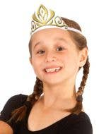 Frozen Anna Girls Fabric Tiara Costume Accessory