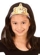 Disney Princess Belle Fabric Tiara Costume Accessory
