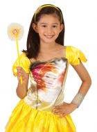 Princess Belle Headband and Wand Costume Accessory Kit