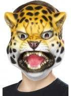 Kids Novelty Wild Leopard Book Week Animal Costume Mask