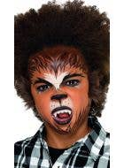 Wicked Werewolf Kids Halloween Makeup Kit