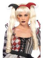 Deluxe Women's Harley Quinn Blonde Costume Wig