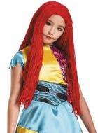Nightmare Before Christmas Girls Red Sally Costume Wig