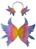 Whimsical Fairy Wings and Headpiece Deluxe Set