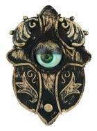 Halloween Decoartions Animated Rolling Eye Horror Doorbell Halloween Prop - Main Image