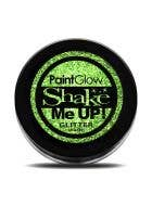 PaintGlow Holographic Green Body Glitter Costume Makeup