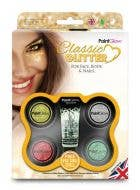 Classic Face, Body and Nails Loose Glitter Makeup Kit Image 1