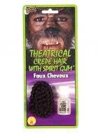Theatrical Dark Brown Crepe Hair
