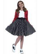 Polka Dot 1950's Girls Rock n Roll Fancy Dress Costume