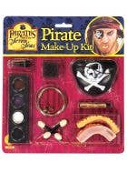 Caribbean Pirate Special Effects Costume Makeup Kit