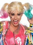 Birds of Prey Harley Quinn Women's Blonde Costume Wig