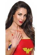 Wonder Woman Self Adhesive Nail Strips Costume Accessory