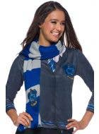 Deluxe Knitted Ravenclaw Scarf Costume Accessory