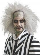 Men's Grey Beetlejuice Frizzy Halloween Costume Wig