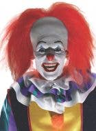 Classic Pennywise Latex Headpiece with Wig Costume Accessory