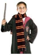 Gryffindor Harry Potter Costume Scarf Front View