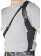 FBI Leather Look Shoulder Holster
