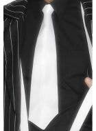 Adults 1920s Gangster White Tie Gatsby Costume Accessory - Main Image