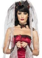 Gothic Bride Women's Halloween Costume Kit