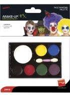 Colour Face Painting Palette Costume Makeup