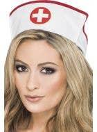 Women's White Nurse Hat Costume Accessory