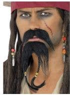 Ahoy There! Pirate Costume Beard Set